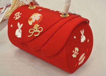 うさぎ柄のバッグ