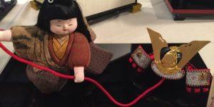 端午の節句・木目込み人形