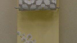 加賀友禅胡蝶蘭の附下