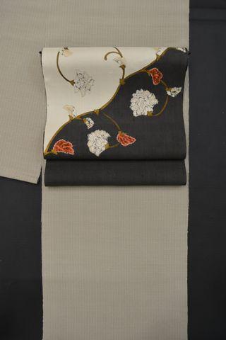 信州紬をコディネート