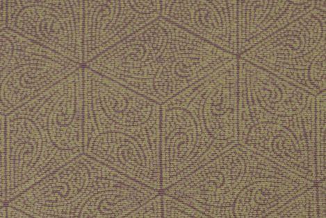 麻の葉に向かい鶴文様の江戸小紋