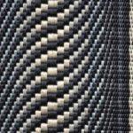 作家物の綾織り八寸帯