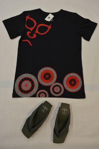 和柄半袖Tシャツ・助六¥2,400(税別価格)