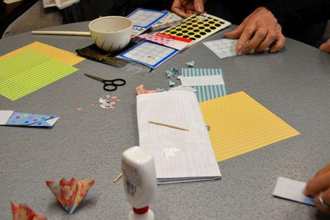 折り紙の講習会