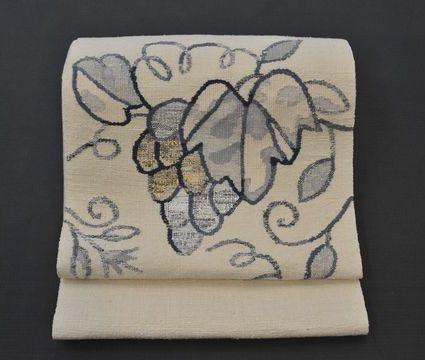 手織八寸帯
