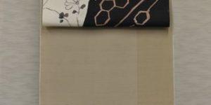 牛首紬をコーディネート