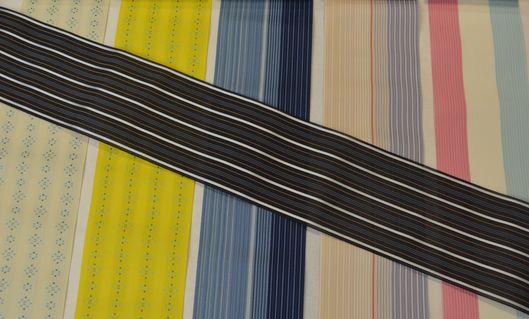 博多織の紗半巾帯