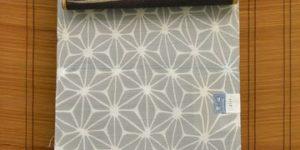 竺仙さんの麻の葉柄綿絽浴衣を夏着物としてコーディネート