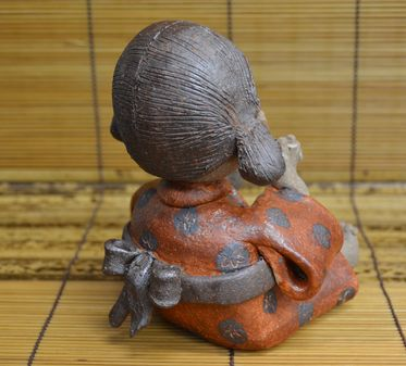 陶器・童子(女の子)