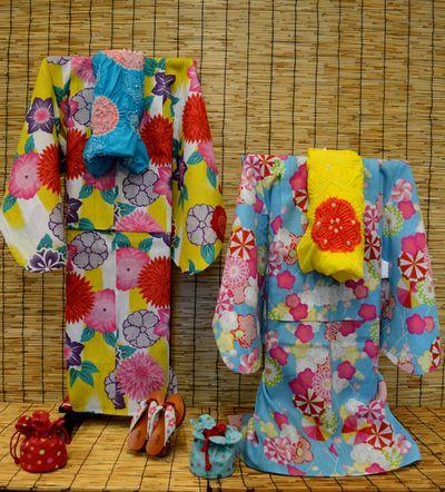 撫松庵の子供浴衣