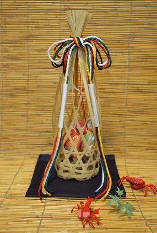 匂い袋・髭籠(ひげこ)