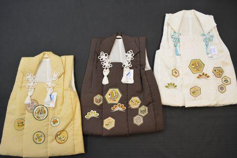 男の子の被布コート