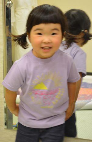 音羽の3歳の誕生日