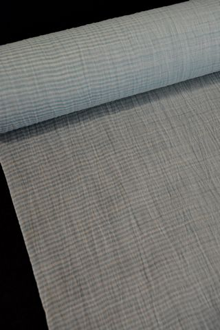 手織の小千谷縮
