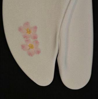 そゅくす足袋・桜の柄