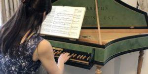 Kさんのチェンバロ演奏