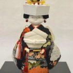 古布の木目込み人形「花嫁」