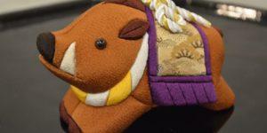 古布木目込み人形「横綱亥」