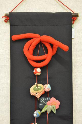 古布で作られたお正月飾り
