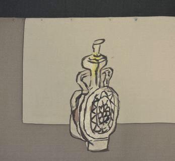 お酒の瓶の模様