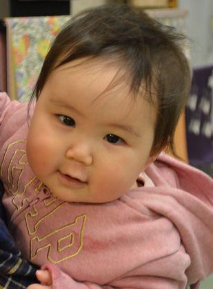 生後7か月の孫の「凛(りん)」