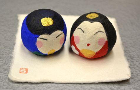 手作り張子・丸雛 ¥1620