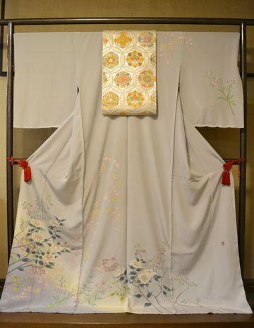 お母さんの入卒用の着物として提案させていただきたい加賀友禅訪問着