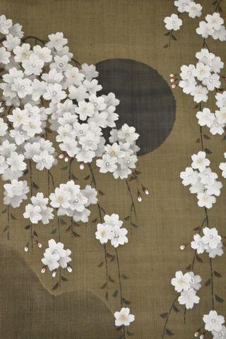 月夜の桜かな~