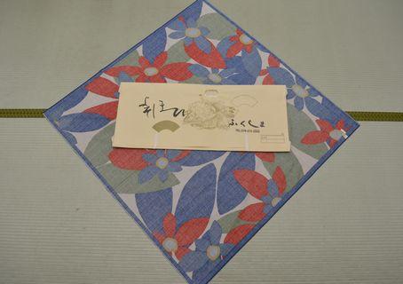 綿風呂敷(シビラ)118㎝幅 ¥3000