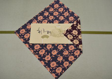 綿風呂敷(リバーシブル)105㎝幅 ¥2800