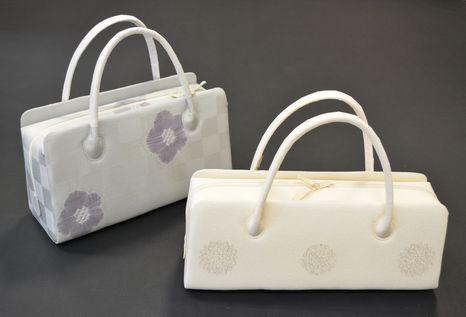 帯揚げから作るオーダーメイド手提げバッグ