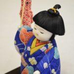 古布木目込み人形「こいのぼり」