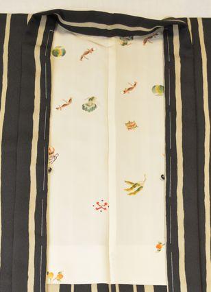 羽織裏「七福菜の柄」