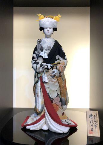 木目込み人形・古布の花嫁さん