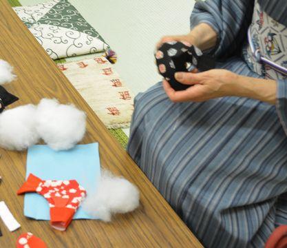 カルチャー教室/鯉のぼり作り