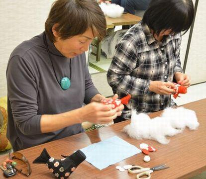 カルチャー教室/ちりめん細工・鯉のぼり作り