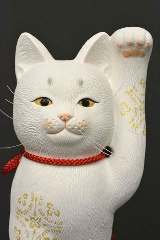 招き猫(京陶人形)