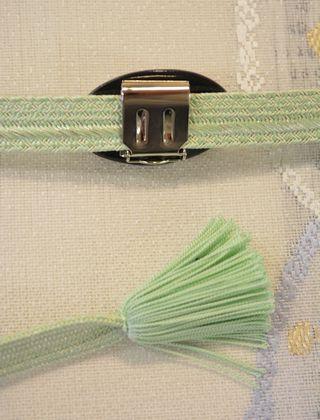 清水焼帯留めの金具