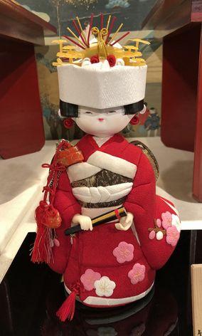 木目込み人形・花嫁さん