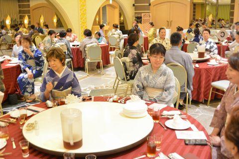 8月4日に開催された「ゆかたの集い」