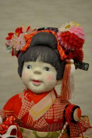 創作人形「栞」
