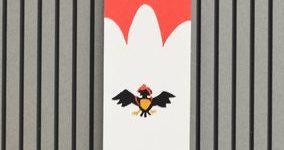 タペストリー「鳥天狗」