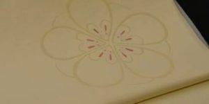 オンリーワンの梅ねずみ柄の帯
