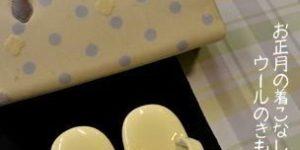 シルクウールを博多織の半幅帯でコーディネート