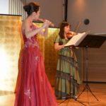 ヴァイオリンとフルートのサロンコンサート