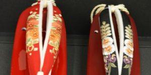 振袖に合わせる赤い草履