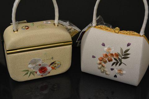 振袖用のバッグ