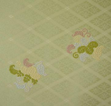 永治屋清左衛門の唐織の着物