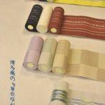 博多織・単衣ゆかた帯(西村織物)