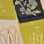絽小紋で初夏の装い